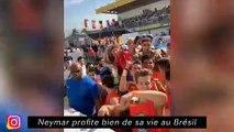 Neymar profite bien de sa vie au Brésil - Jean Lucas a du mal avec le français