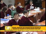 Defense panel presents Rep. Tiangco as 1st witness