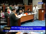SC has power to intervene in impeachment trial - Bernas