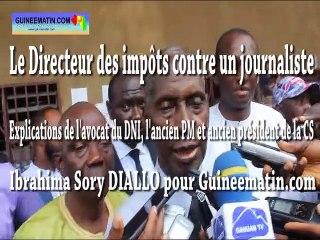 Le Directeur national des impôts contre un journaliste : les explications de Me Lamine Sidimé