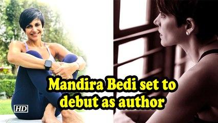 Mandira Bedi set to debut as author