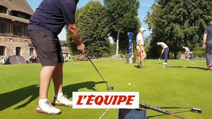 Test Odyssey ou la vraie connaissance du putter - Golf - Matériel