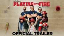 Playing With Fire Bande-annonce VO (Comédie 2019) Brianna Hildebrand, John Cena