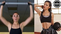 Gal Gadot training for Wonder Woman - Justice League