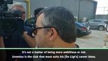 De Ligt has everything to become like Zlatan- Raiola