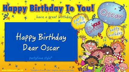 Jump Singers - Happy Birthday Dear Oscar (For Partytime)