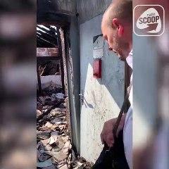 Les dégâts dans les immeubles de la Guillotière ravagés par un incendie