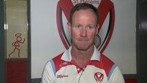 Saints coach on NRL job links and female refs