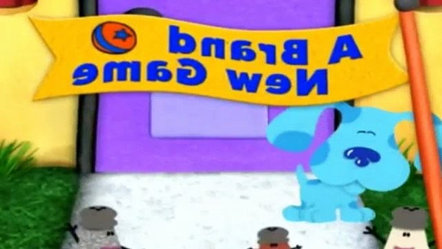 Blues Clues Season 5 Episode 6 - A Brand New Game