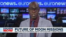 Moon-landing 50th anniversary: Europe's space chief outlines plans for 'moon village'