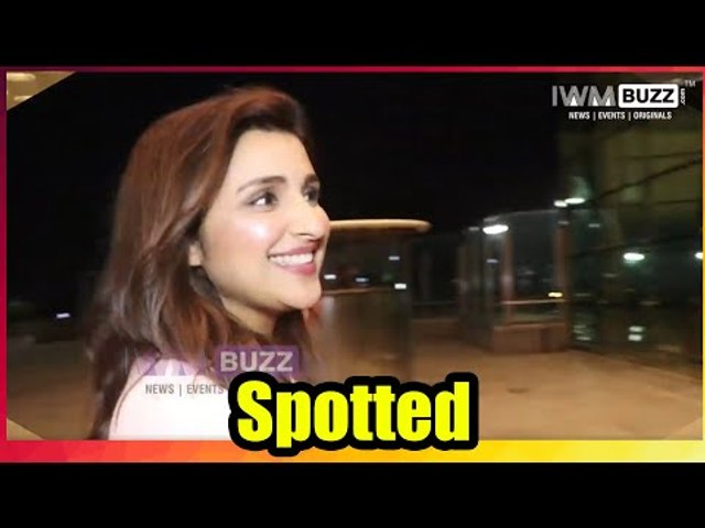 Gorgeous Parineeti Chopra looks hot in her pink Blazer