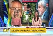 """Brasil: exdirector de Odebrecht afirmó que fue """"casi obligado"""" a hablar contra Lula"""