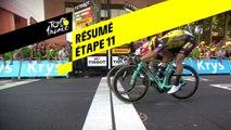 Résumé - Étape 11 - Tour de France 2019