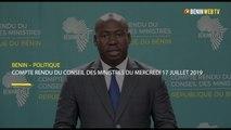 Benin : compte rendu du conseil des ministres du mercredi 17 juillet 2019