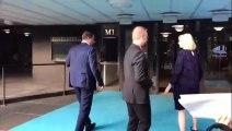 Salvini - Arrivato al Finlandia Hall (17.07.19)