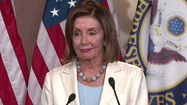 "Pelosi defends ""gentle"" resolution condemning Trump tweets"