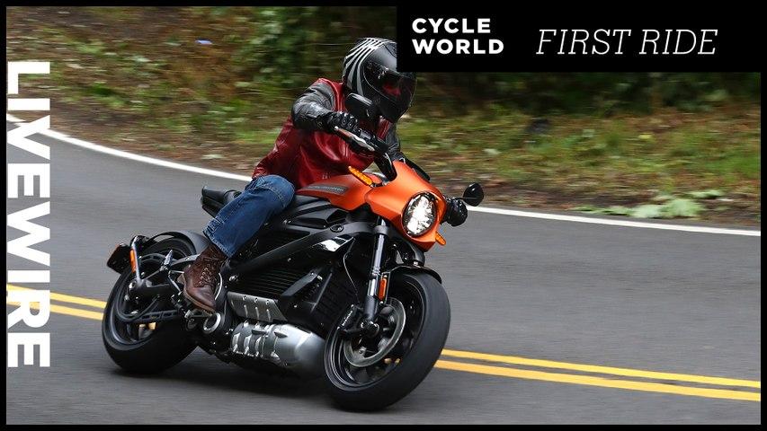2020 Harley-Davidson LiveWire First Ride