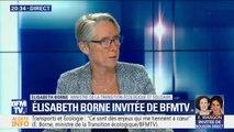 """Transport et écologie: """"Ce sont des enjeux qui me tiennent à cœur"""", assure Elisabeth Borne"""
