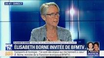 """Train des primeurs: Elisabeth Borne """"ne veut pas que ce train s'arrête"""""""