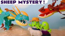 Funny Funlings Sheep Mystery with How to Train Your Dragon 3 Toothless and Thomas and Friends in this Spooky Challenge Toy Story Family Friendly Full Episode English