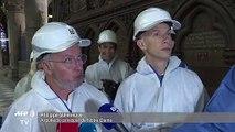Escombros, vacío y una titánica obra por delante en Notre Dame de París