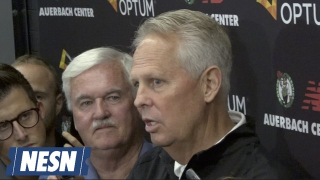 """Danny Ainge On Tacko Fall: """"He's A High Priority For Us."""""""