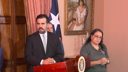 Protesters continue calls for Puerto Rico governor to resign