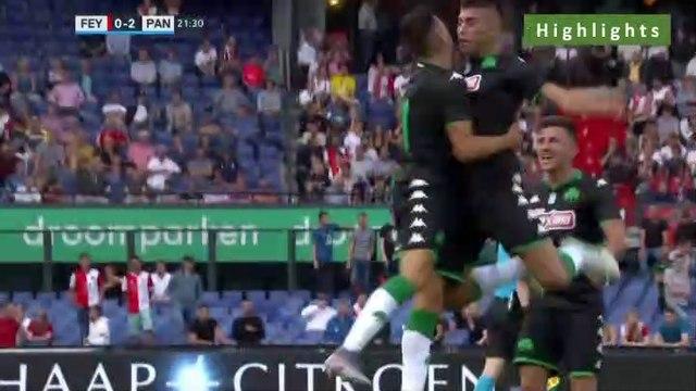 0-2 Giannis Bouzoukis Goal -  Feyenoord 0-2 Panathinaikos 17.07.2019