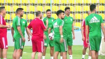 Algeria and Senegal train ahead of the 2019 Africa Cup of Nations final