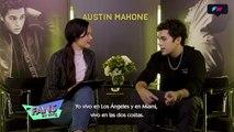 Entrevista a Austin Mahone para MTV Fans en Vivo