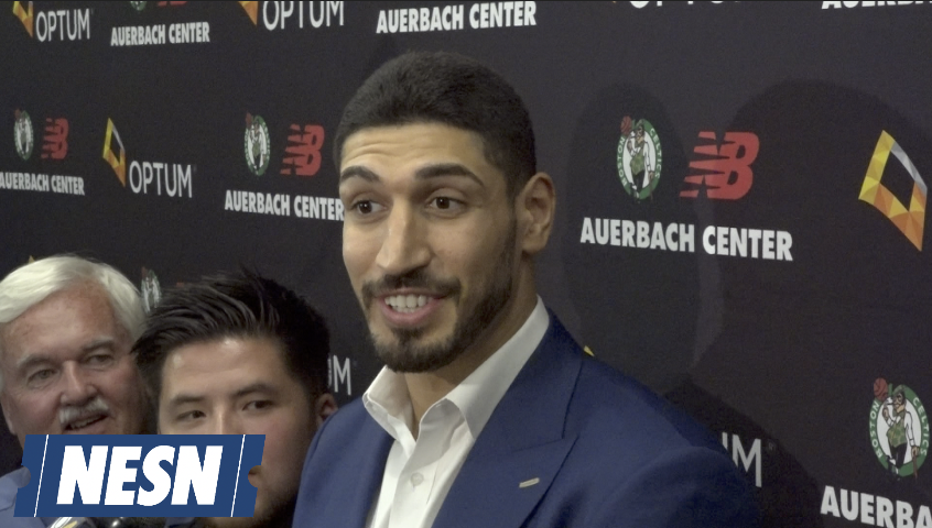 Enes Kanter Is A Big Tom Brady Fan, Wants To See Baseball