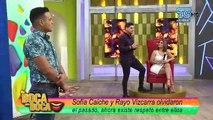 Sofía Caiche y su ex Rayo Vizcarra nuevamente frente a frente en la televisión
