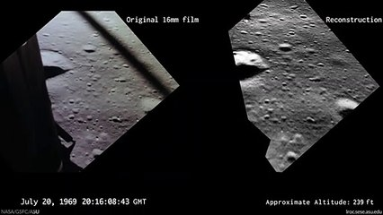 NASA Recreates What Buzz Aldrin Saw During Apollo 11 Landing