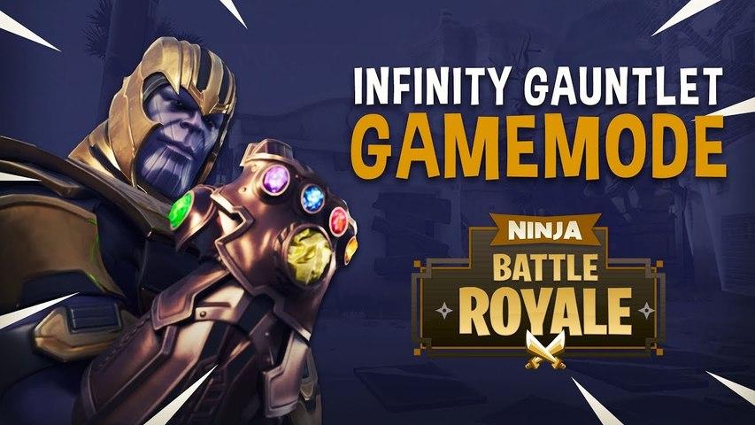 Infinity Gauntlet Game Mode-- - Fortnite Battle Royale Gameplay - Ninja