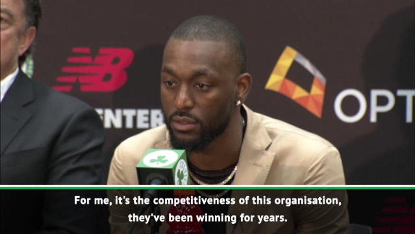 I came to the Celtics to win - Walker