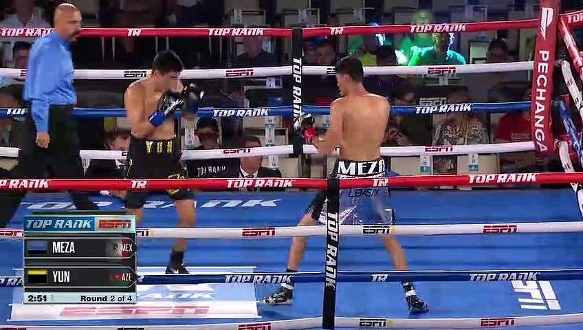 Jose Antonio Meza vs Dmitry Yun (28-06-2019) Full Fight