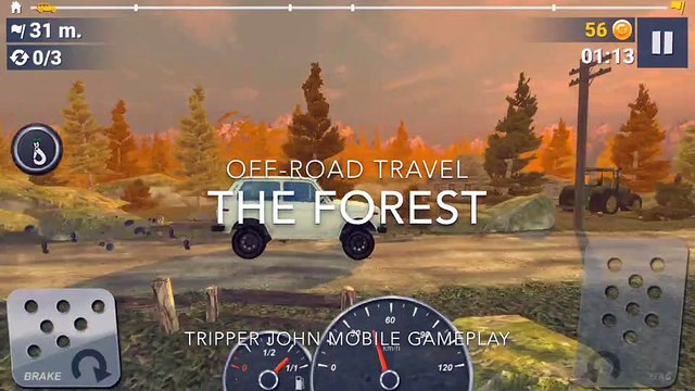 Off-Road Travel: The Forest - Mobile Gameplay
