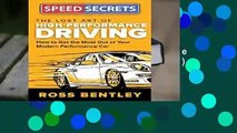 [BEST SELLING]  Lost Art of High Performance Driving (Speed Secrets)