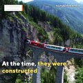 Switzerland Has Epic Train-Swallowing Mountains