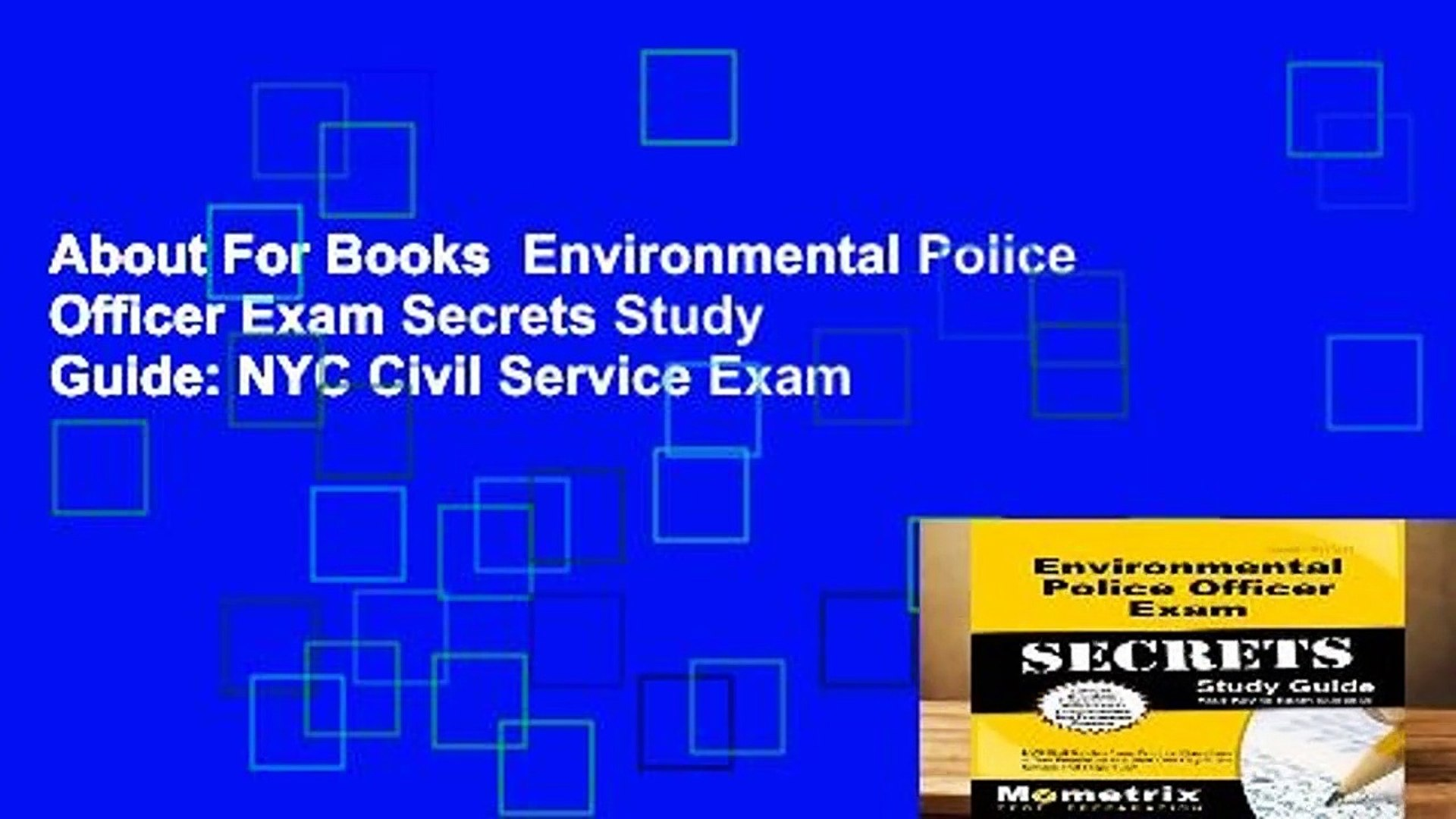 About For Books Environmental Police Officer Exam Secrets Study Guide: NYC  Civil Service Exam