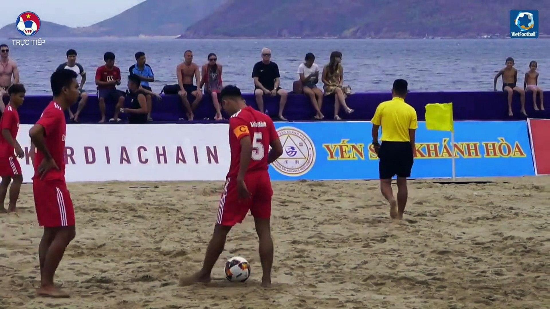 TRỰC TIẾP | Olympic Gym & Fitness - Đà Nẵng | Giải bóng đá Bãi biển Vô địch Quốc gia | VFF Chann