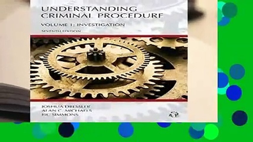 About For Books  Understanding Criminal Procedure: 1  For Kindle