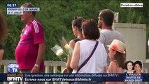 500 personnes se sont rassemblées dans la Marne pour rendre hommage aux victimes de la collision entre une voiture et un train