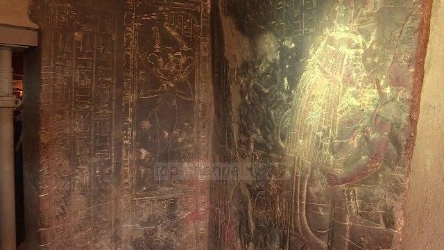 Historike/ Nis restaurimi i arkivolit të artë të faraonit egjiptjan
