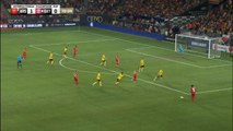 Lewandowski equalises for Bayern with brilliant header