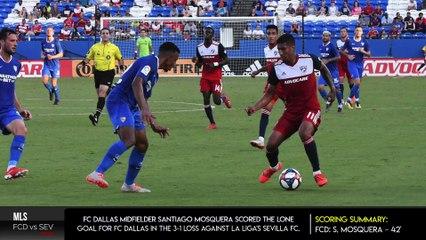 FC Dallas Falls to Sevilla FC 3-1