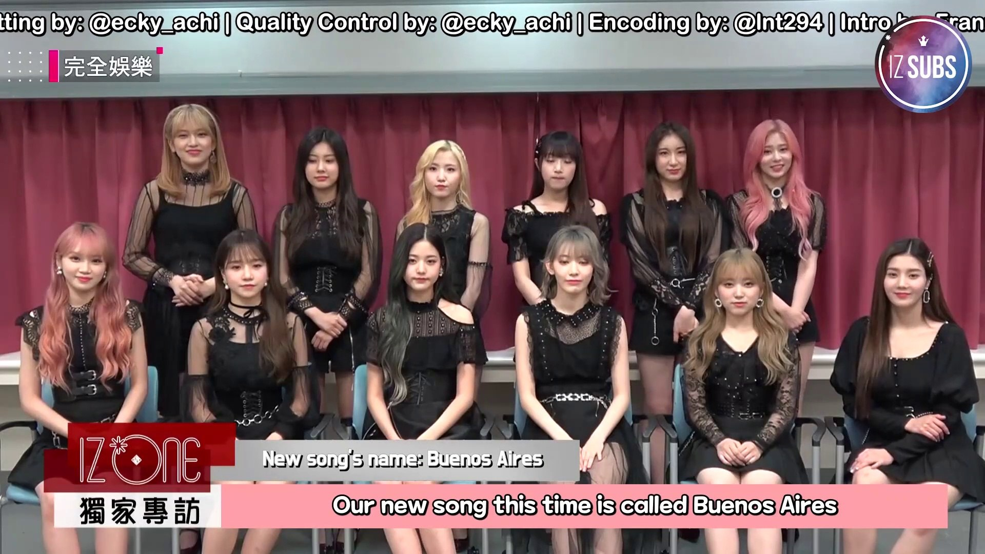 [ENG SUB] 190712【WIZ*ONE】IZ*ONE Exclusive Interview! So This Is How the Members See Each Other