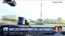 Comment les gendarmes veillent à la sécurité des autoroutes, à la veille d'un week-end chargé sur les routes ?