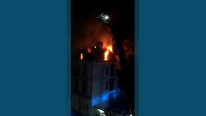 Important incendie rue Kléber à Troyes : 8 personnes évacuées