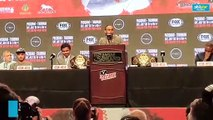 Keith Thurman's closing remarks at pre-fight presser